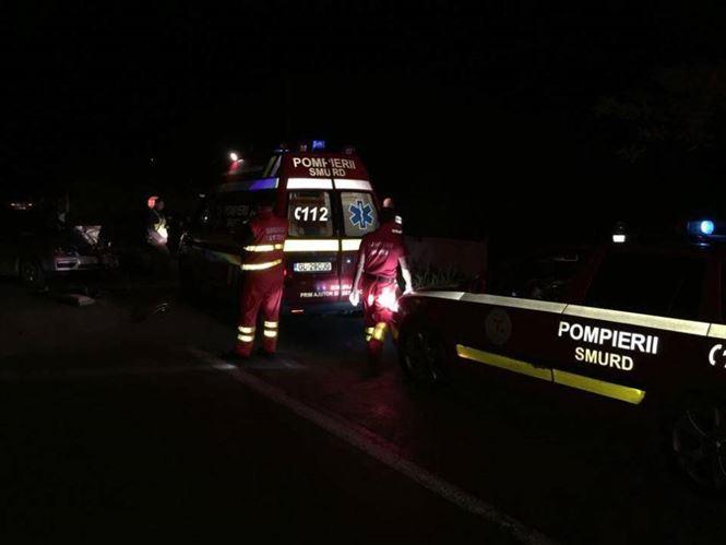 Al doilea accident produs luni seara pe soseaua dig Braila Galati