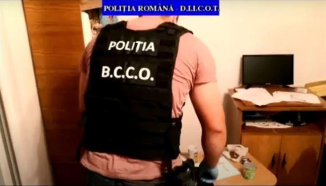 Percheziții în Brăila la un grup infracțional implicat în traficul de etnobotanice
