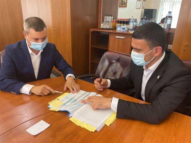 Discuții pentru reabilitarea digului de pe râul Siret în zona Corbu Vechi
