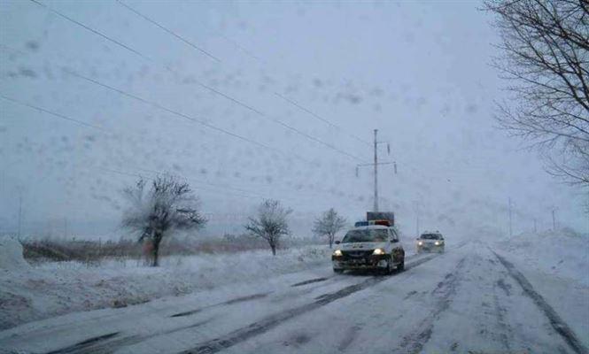 Codul galben s-a făcut simțit pe drumurile din județul Brăila