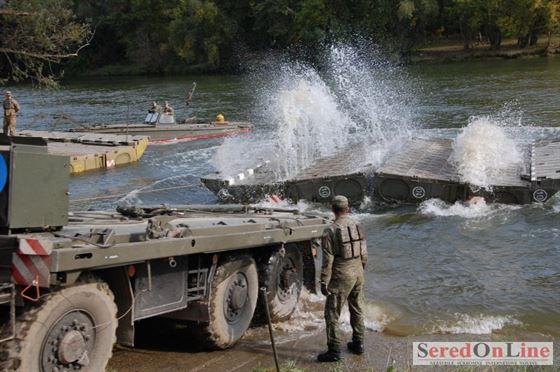 """Militarii Brigazii 10 Geniu """"Dunărea de Jos"""" participa la exercitiul """"Blonde Avalanche"""""""