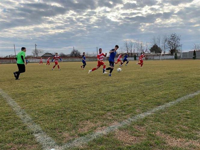 Dacia Unirea a terminat la egalitate amicalul cu Sporting Liești