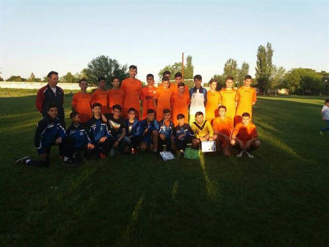 Dacia Unirea Braila a dominat campionatul juniorilor C