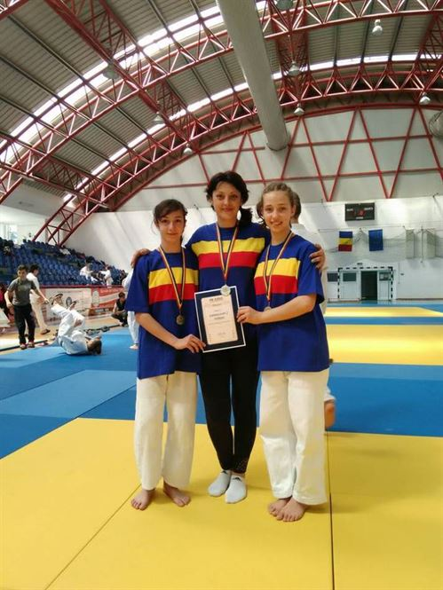 Naidin si Marinescu medalii de bronz la nationalele de judo juniori IV