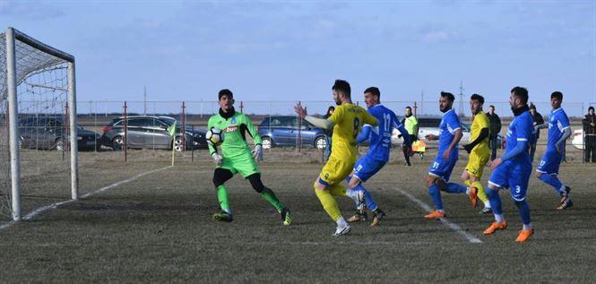 Dacia Unirea a pierdut cu 0-2 (0-0) amicalul cu Unirea Slobozia