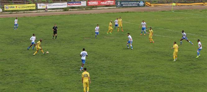 Înfrângere cu 0-2 pentru Dacia Unirea în ultimul meci pe teren propriu
