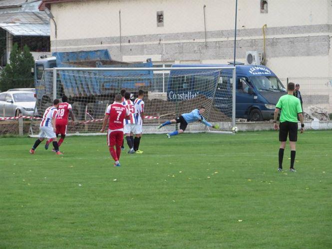Derby-ul brailean al Ligii a 3-a, incheiat cu victoria Chiscaniului si 3 cartonase rosii