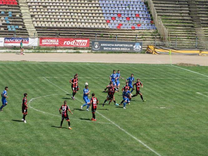Dacia Unirea a pierdut la limita meciul din prima etapa a Ligii a 2-a
