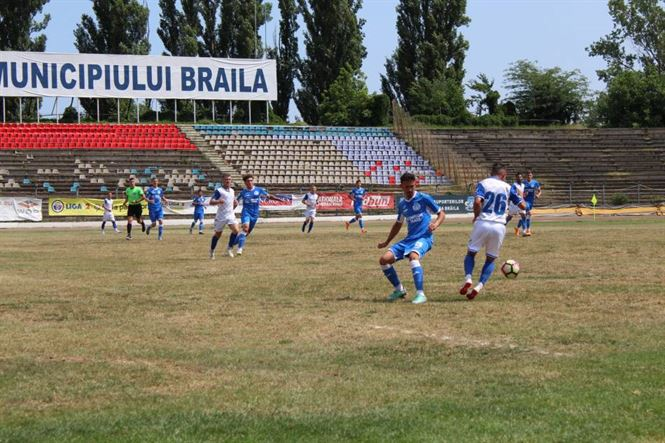 Dacia Unirea a câștigat primul amical al verii