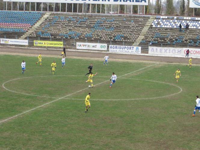 Prima victorie pentru Dacia Unirea în acest sezon de Liga a 2-a
