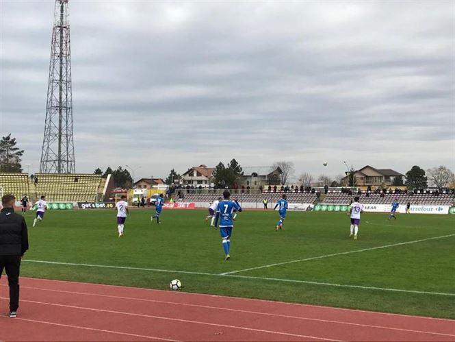 Dacia Unirea la a 9-a înfrângere în acest sezon