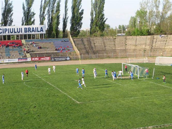 Dacia Unirea castiga cu 5-2 dupa ce in minutul 8 era cundusa cu 0-2