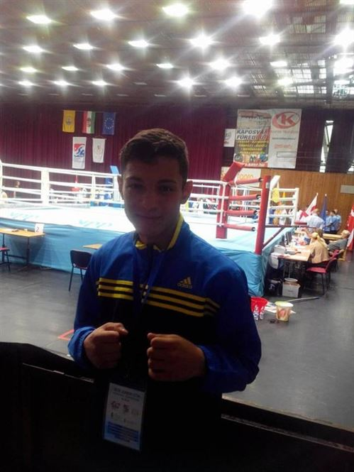 Braileanul Fernando Anton medaliat cu bronz la europenele de juniori