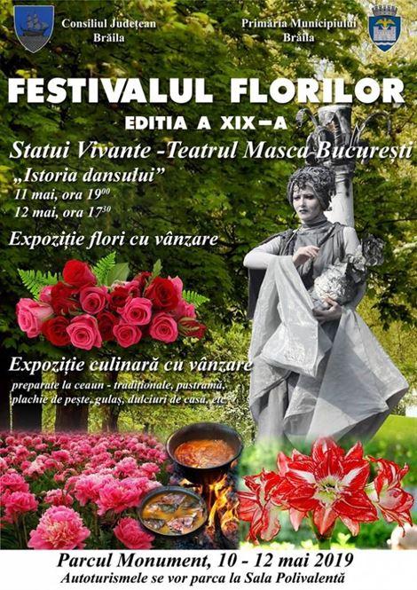 Festivalului Florilor în Parcul Monument