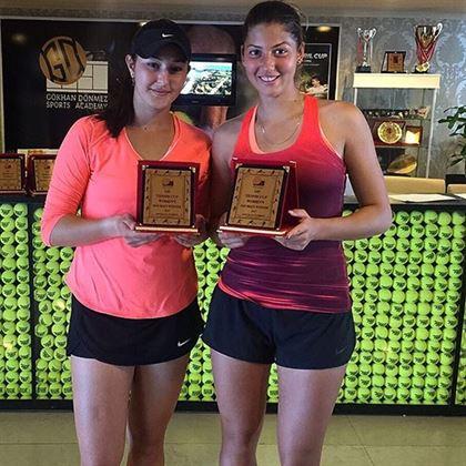 Braileanca Georgia Craciun, al treilea titlu in circuitul ITF de dublu