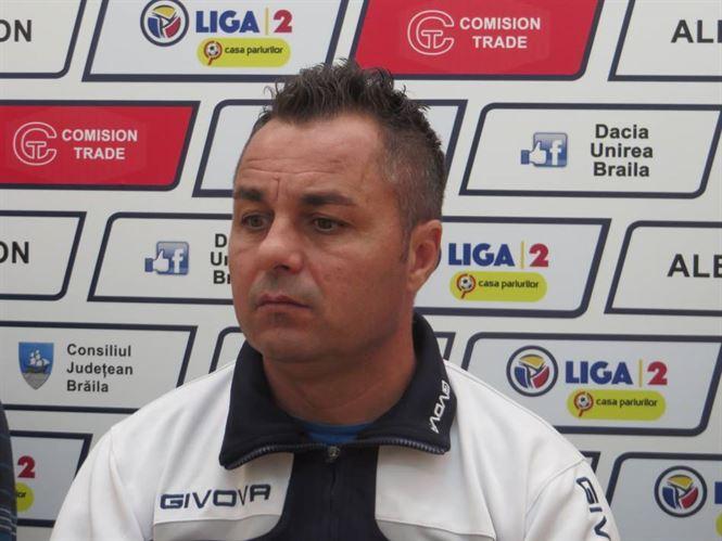 Declarații Florentin Petre după ultimul meci acasă pentru Dacia Unirea în Liga a 2-a
