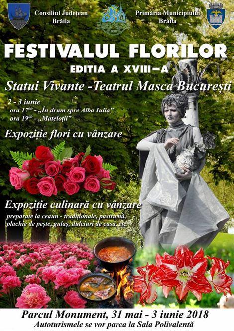 Festivalul florilor – editia a XVIII-a