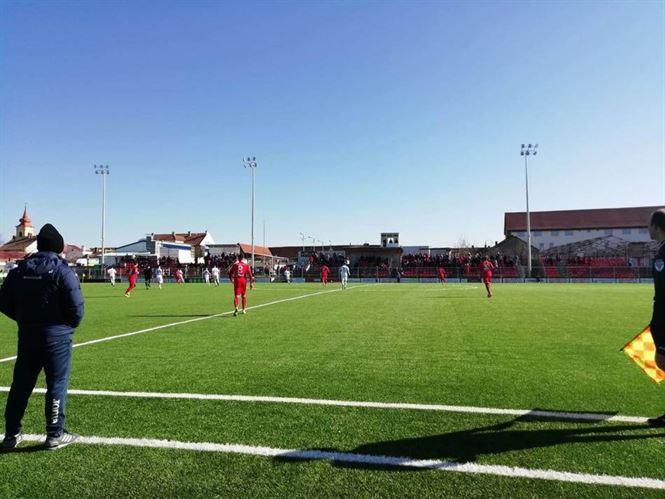 Dacia Unirea a pierdut doar cu 3-0 în deplasarea de la Arad