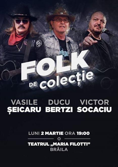 Folk de colecție la Brăila