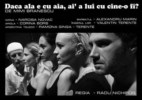 O comedie despre dragoste, sambata seara, la Teatrul Maria Filotti
