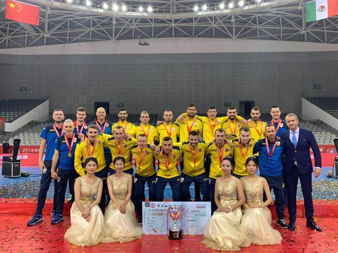 Naționala de futsal a României, cu brăileanul Andrei Crăciun printre marcatori, a câștigat turneul internațional din China