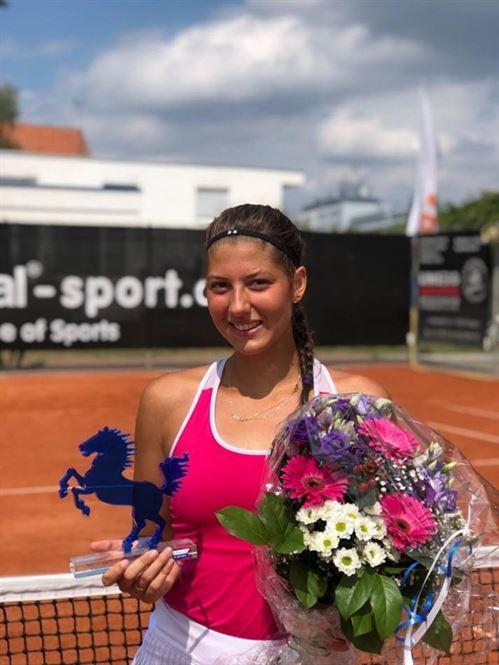Georgia Crăciun a câștigat de ziua ei titlul la turneul ITF de la București