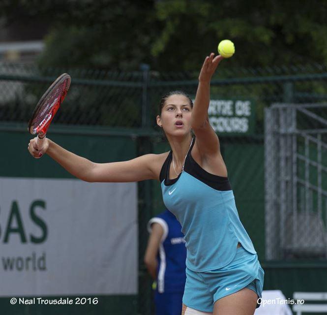 Georgia Craciun a trecut de primul tur al calificarilor la BRD Bucharest Open