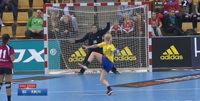 Romania s-a distrat in meciul cu Uruguay