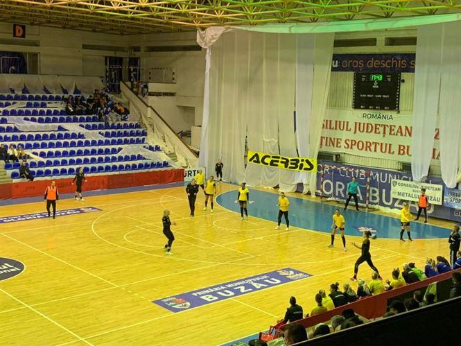 Dunărea Brăila a învins cu 29-25 pe Gloria Buzău