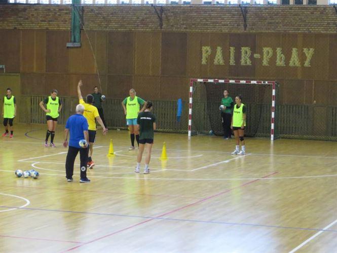 Handbalistele de la Dunarea Braila, in febra pregatirilor pentru noul sezon al Ligii Florilor