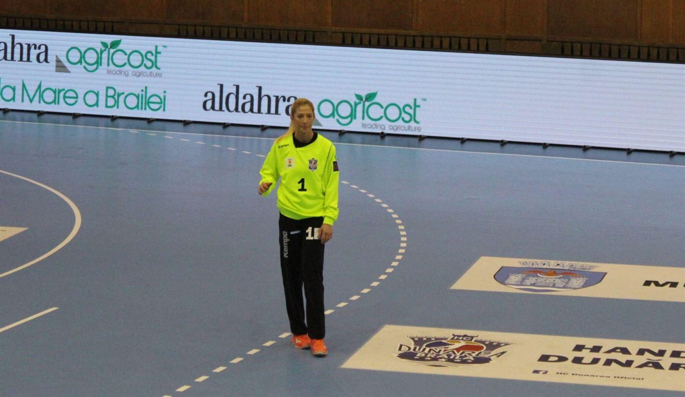 Elena Șerban a limitat proporțiile scorului în meciul cu Vâlcea