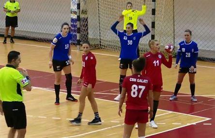 HC Dunărea Brăila a câștigat cu 22-17 meciul cu CSM Galați din etapa a II-a a Ligii Florilor