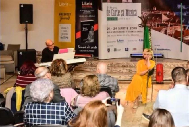 """Recital extraordinar de poezie și jazz la Teatrul """"Maria Filotti"""" Brăila"""