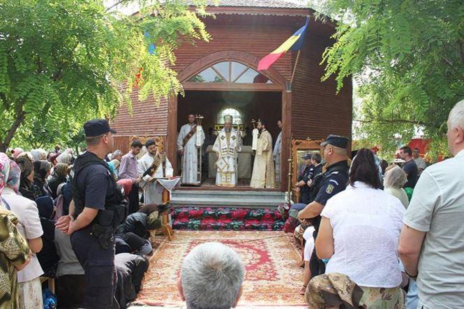 """Recomandări adresate de către jandarmi pelerinilor care vor participa la hramul Mănăstirii """"Sfântul Ioan Botezătorul"""" din localitatea Măxineni"""