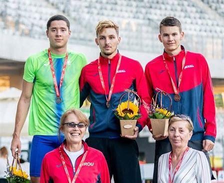 Iconaru și Caracuda, câte două medalii la Balcaniada de juniori I