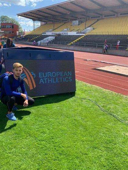 Alexandru Iconaru locul 7 la europenele de juniori 1