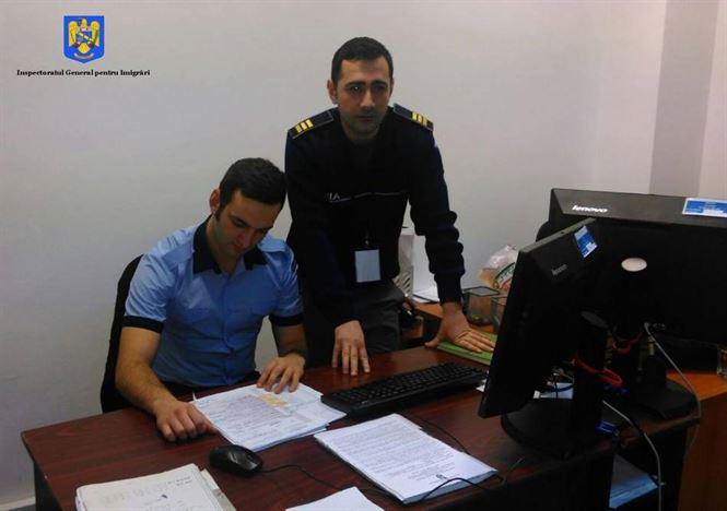 """Studenți ai Academiei de Poliție """"Al. I. Cuza"""" în practică la Biroul de Imigrări Brăila"""