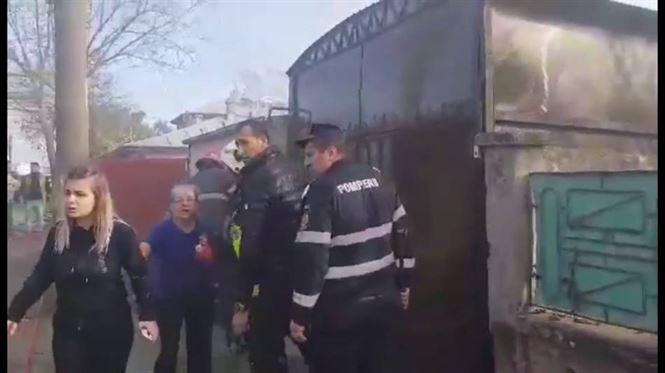 Femeie de 80 de ani decedată într-un incendiu