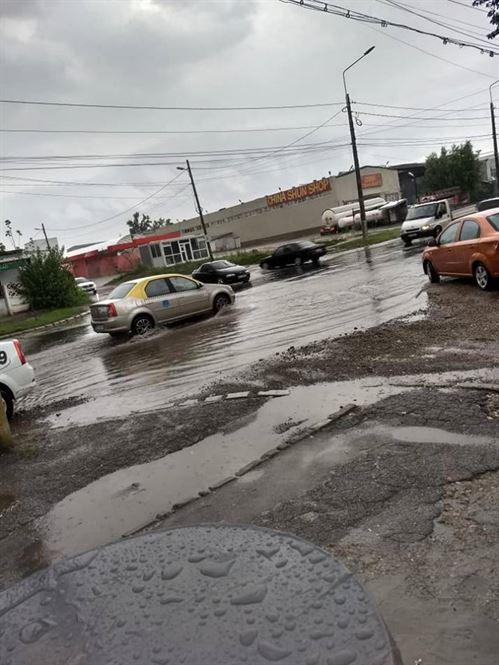 Inundatii in urma ploilor abundente