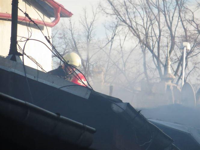 Cinci incendii la început de an 2020