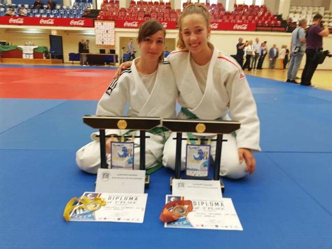 Marinescu si Naidin au obtinut medalii la Cupa Mării Negre la judo
