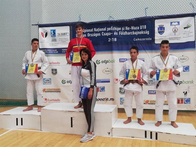 Paul Scurtu, campion național de juniori U18 la Ne-Waza