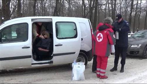 Jandarmii si Crucea Rosie in sprijinul brailenilor