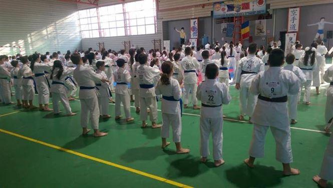 Rezultate bune obținute de Martial Budo la etapa zonală a campionatului național de karate Fudokan pentru copii