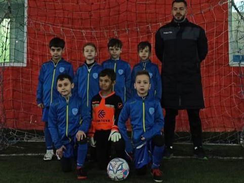 Kinder Brăila U8 a participat la Brașov Indoor Cup