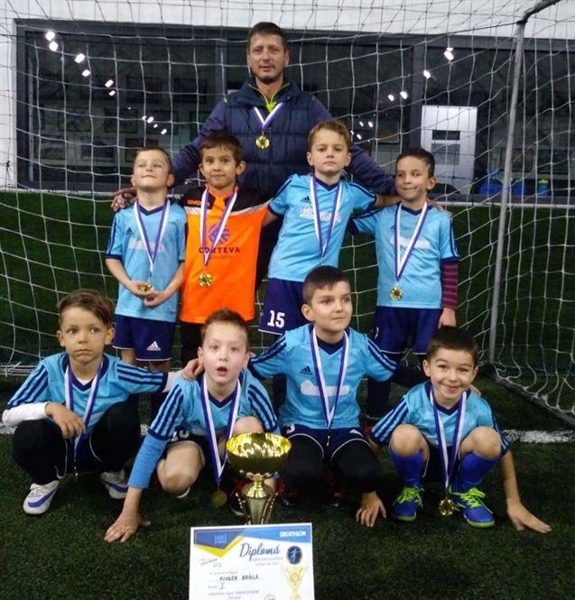 """Kinder Brăila a câștigat """"Cupa Inizio Junior"""""""