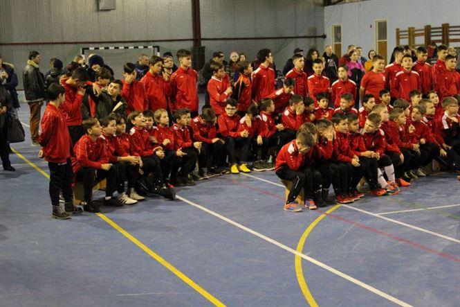 Moș Crăciun a venit la micuții fotbaliști de la Luceafărul Brăila