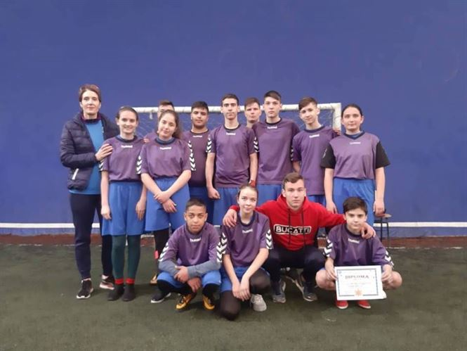 Echipa Liceului Anghel Saligny, locul 3 la faza zonala a ONSS la rugby-mixt – nivel gimnazial