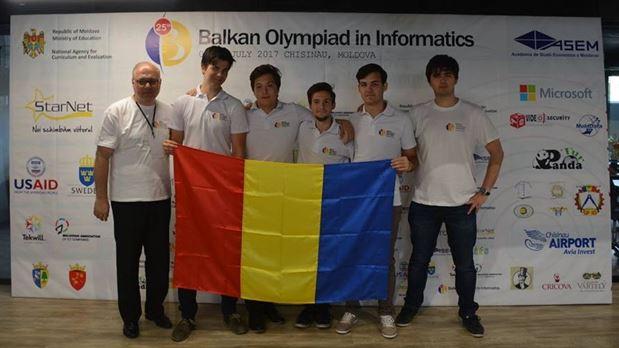 Braileanul Alex Tatomir medaliat cu aur la Balcaniada de Informatica pentru seniori