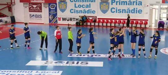 Echipa de junioare 2 a LPS Brăila va juca pentru locurile 7-8 la turneul final